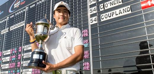 Kim FORE Business championship winner